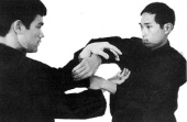 Ted Wong and Bruce Lee chi sau